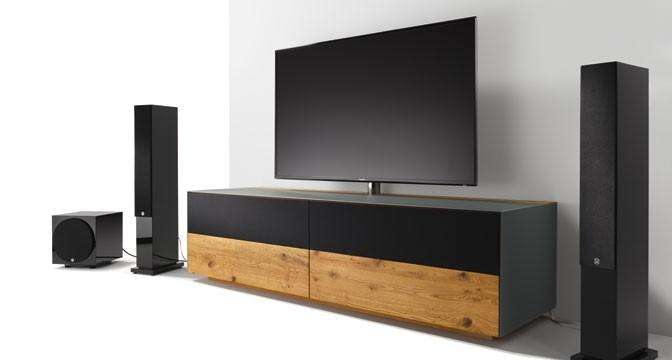 TV Und HIFI  Möbel Aus Massivholz.