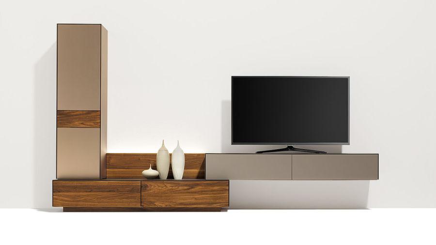 Tv Wohnwand Als Raumteiler : CUBUS Pure Wohnwandneu